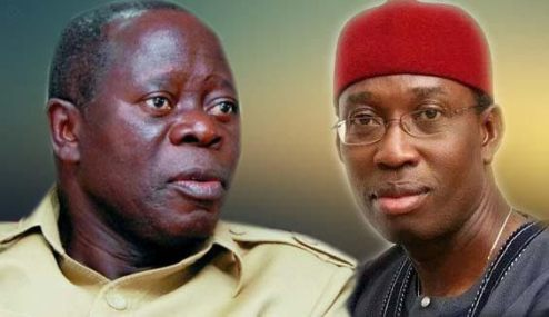 2019: Oshiomole Threatens To Sack Okowa, Install APC Governor In Delta