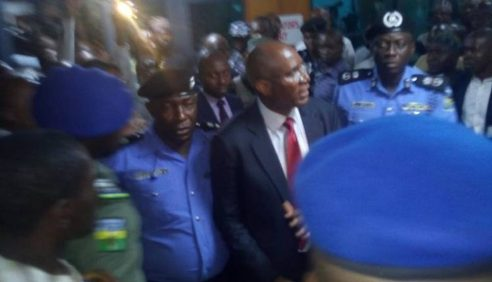 JUST IN: Police Arrest Omo-Agege Over Stolen Mace