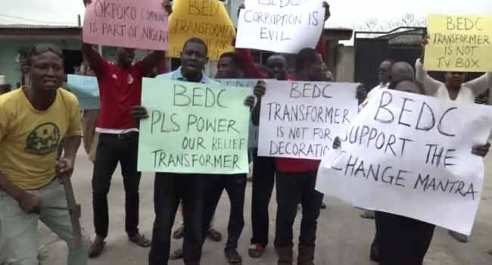 Delta Community Protests Shortage In Power Supply