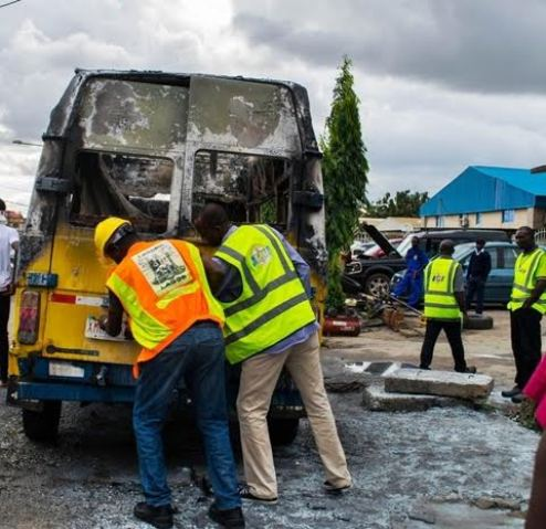 Delta: 3 Passengers Roasted To Death In Abraka Auto-Crash