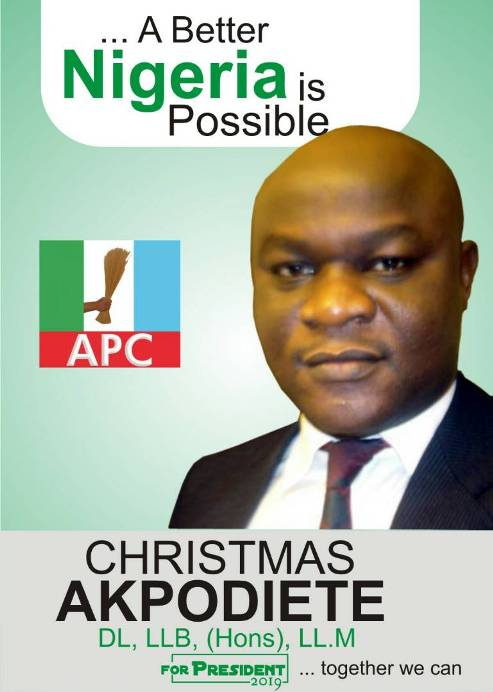 39-Years-Old APC Presidential  Aspirant, Akpodiete  Urges Buhari To Step Down