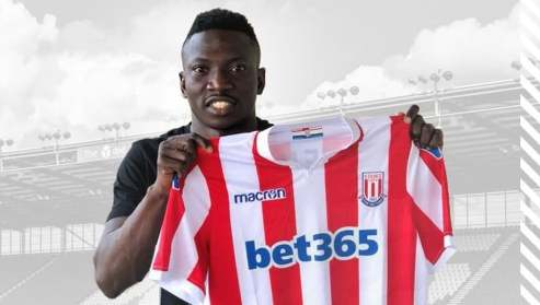 Super Eagles Midfielder,  Oghenekaro Etebo Joins Stoke