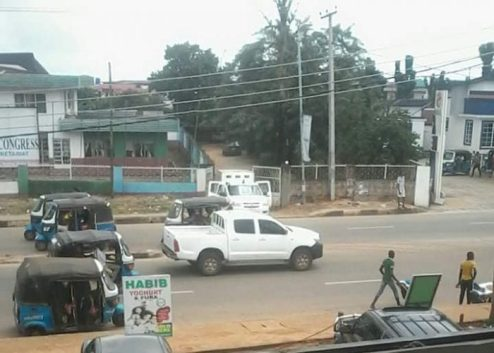Delta APC Crisis Worsen As Police Seal Asaba Party Secretariat