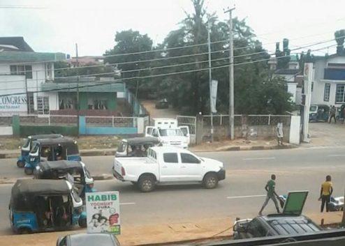 Delta APC Crisis Worsen As Police Seal Asaba Party Secretariat