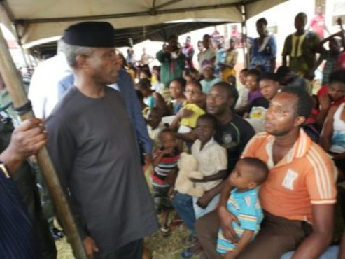 Delta IDPs' Camps 'Bubble' As Materials Arrive... Asaba Camp Records First Birth