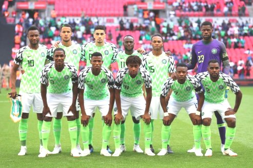 AFCON 2019 Qualifiers: Super  Eagles Players Train In Asaba