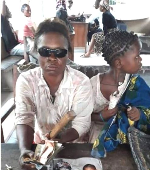 Fake Female Blind Beggar Arrested In Warri