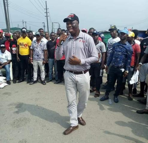 Uvwie Community Boils Following Assassination Of  Okowa's Aide, Ngozi (PHOTOS)