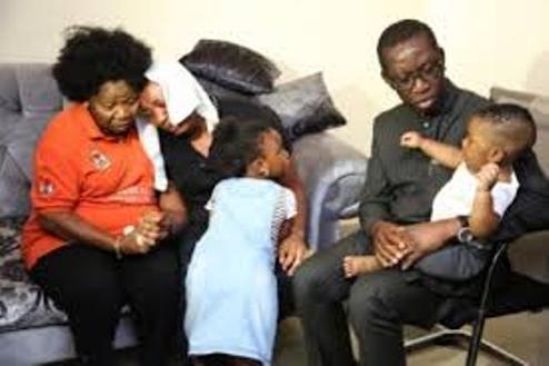 Okowa Pays Condolence Visit To Family Of Slain Aide, Ngozi Ijei