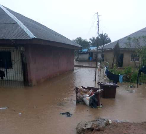Delta State: Residents Call For Help As Flood Wreck Havoc In Oghara
