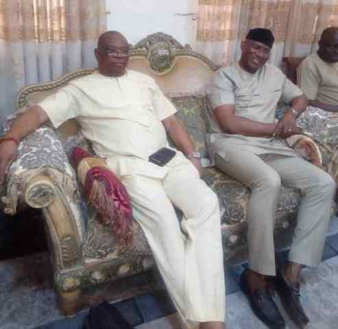 Omo Agege Sets Party Differences Aside, Storms   Amori's Resident In Mosogar
