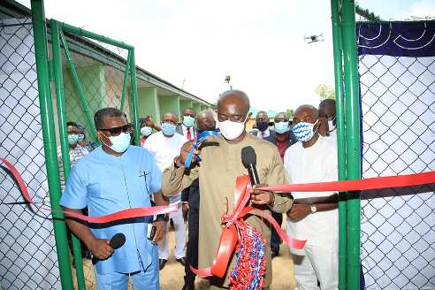 Delta Govt  Inagurates 100-Bed Covid-19 Isolation/Treatment Centre