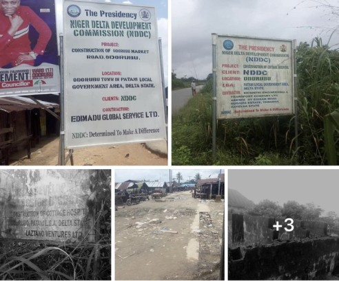 Abandoned NDDC Projects Of Lawmaker Fingered By Akpabio As Beneficiary Sighted In Patani