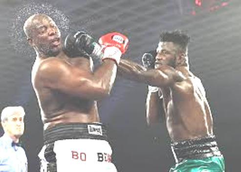 World Heavyweight Sensational, Efe Ajagba Overwhelms Opponent To Win 14th Pro Fight