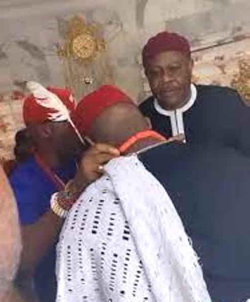 Davido Honoured With Chieftaincy Title In Ibusa, Delta State