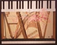 音色 ~ G.V.b op 18 ~(2014年 油彩 40号)