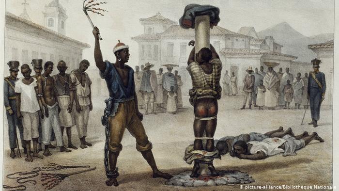 Il tormentone dello schiavo pigro.