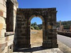 An arch built by convicts at Port Arthur