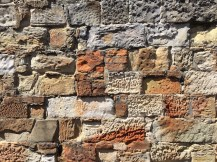 Weathered stone work
