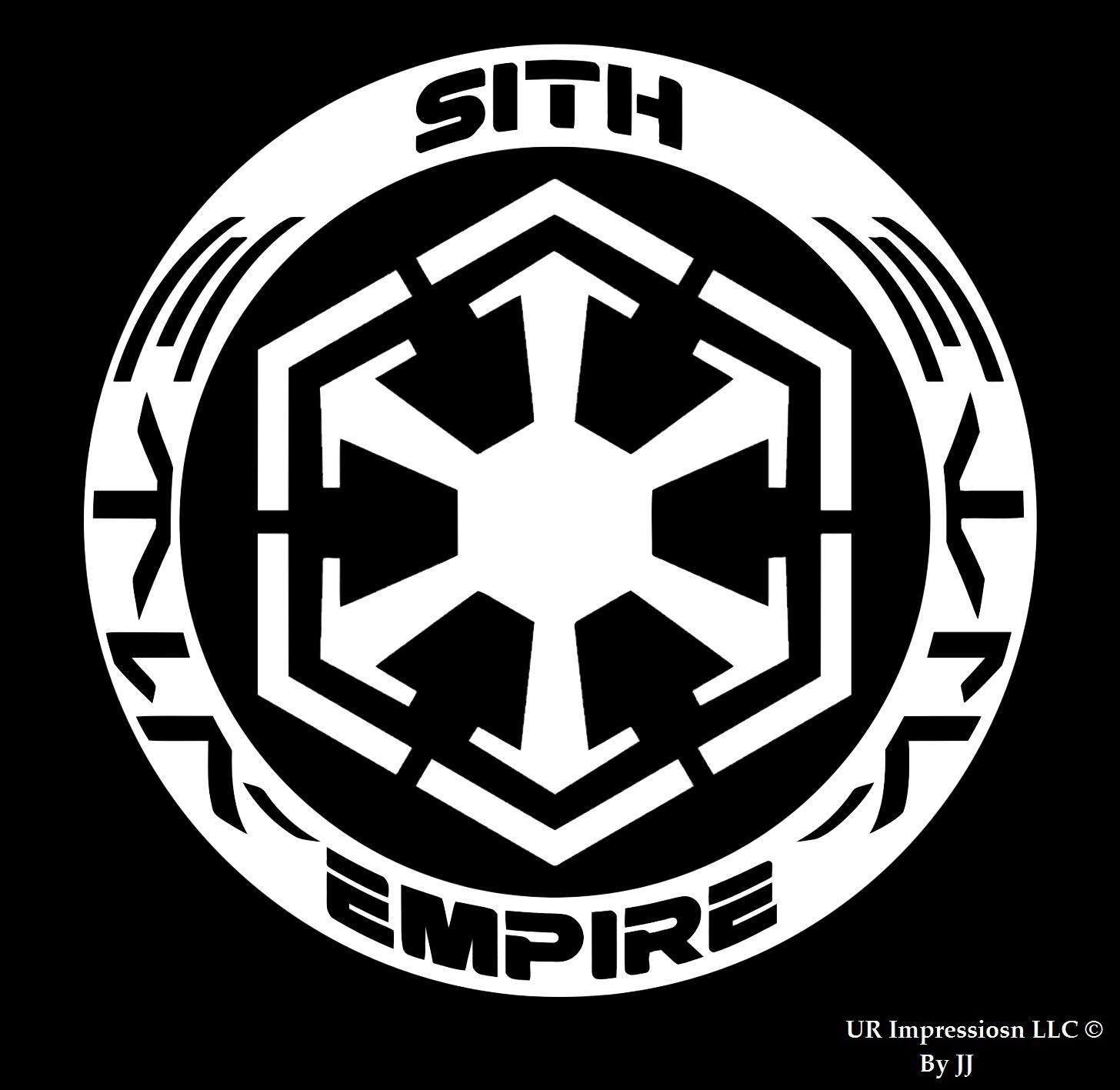 Sith Empire Star Wars Inspired Decal Vinyl Sticker Graphicsur