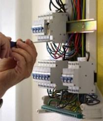 Отключение электроэнергии в помещении