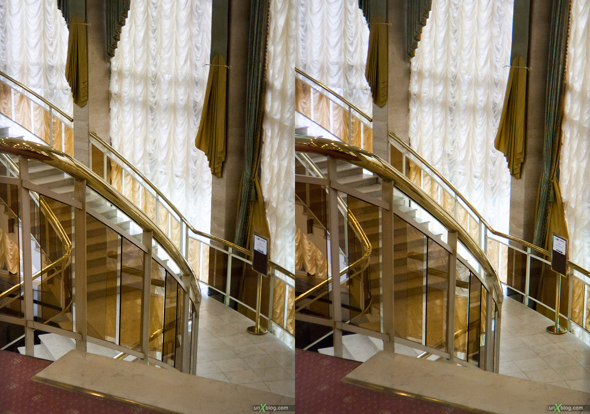 Loreo 3D lens in a cap стерео, стереопара Moscow, Radisson Slavyanskaya Hotel, Москва, Рэдиссон-Славянская, stereo, стерео, cross-eyed, 3D