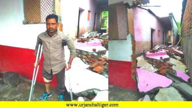 Photo of सिम्प्लेक्स : बारिश ने दिव्यांग को किया बेघर,मदद की दरकार