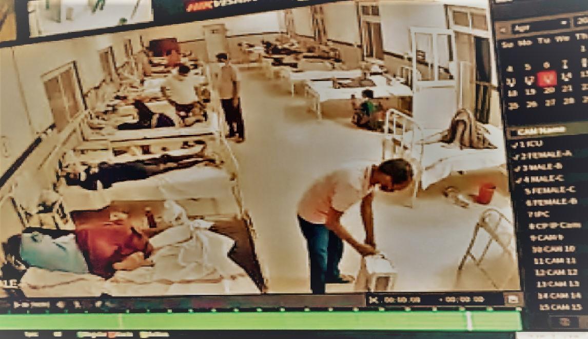 वार्ड ब्वॉय ने हटाया ऑक्सीजन सपोर्ट, कोरोना मरीज की तड़प-तड़पकर हुई मौत,देखिए वीडियो