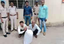 Photo of सरई पुलिस ने भारी मात्रा में अवैध गांजा के साथ 2 आरोपियो को पकड़ा।