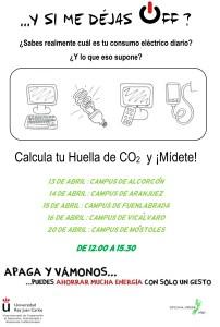 Campaña de sensibilización en eficiencia energética y consumo responsable.