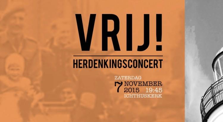 Herdenkingsconcert 7 november 2015 op Urk