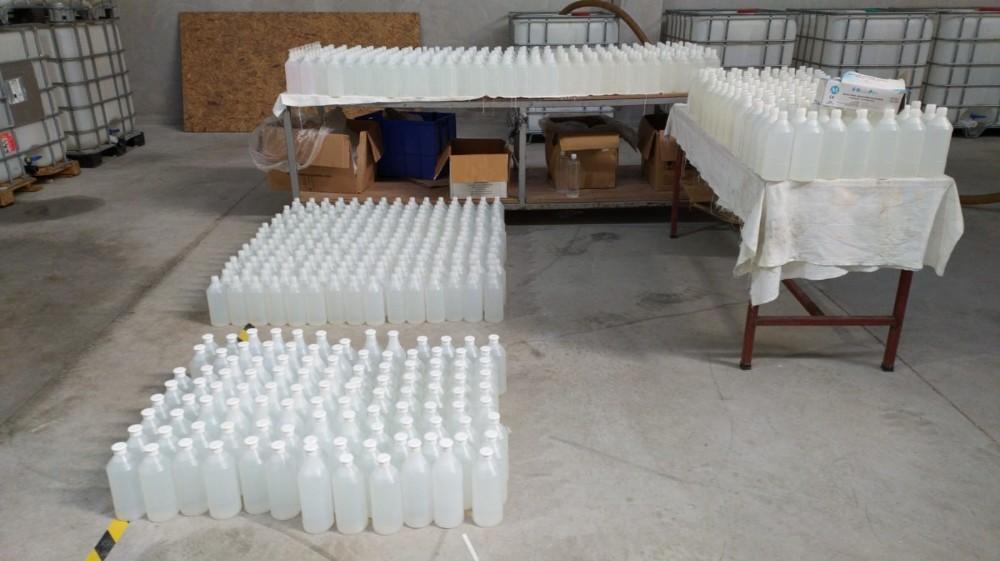 Korona Virüsü Fırsatçılarına Darbe: Binlerce Litre Sahte Dezenfektan Yakalandı