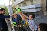 Başkan Dutlulu Çocukları Sevindirdi