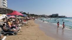 Sınavdan Çıkan, Plaja Koştu