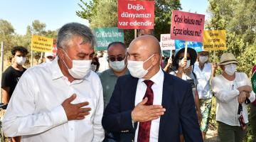 Başkan Tunç Soyer: Burası tarım arazisi olmaya devam edecek