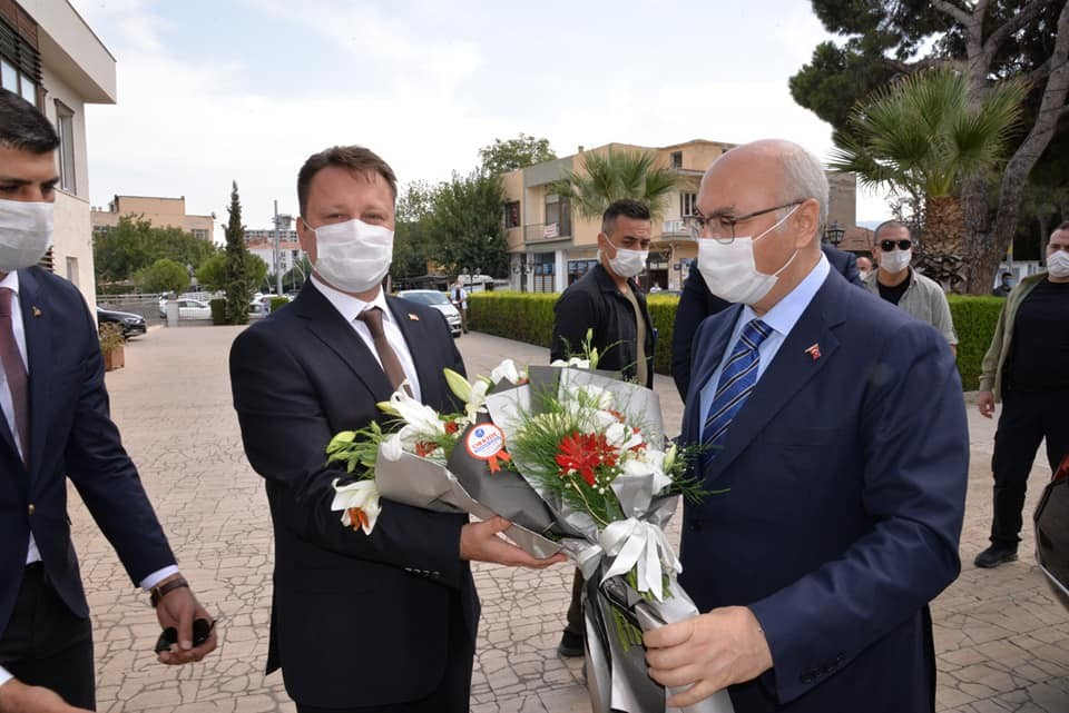 İzmir Valisi Köşger, Kuran Kursu Temel Atma Töreninde