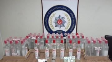 Nazilli Emniyeti Kaçak İçkiye Göz Açtırmıyor