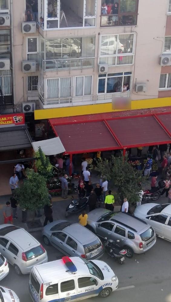 İzmirde Maske Uyarısı Yapılan Şahıs Kan Döktü
