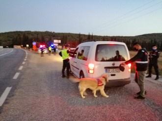 İzmirde Jandarmadan Huzur Operasyonu