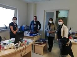 Ak Partili Kadınlardan Sağlık Çalışanlarına Moral Ziyareti