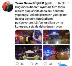 İzmirde Kent Genelinde Geniş Çaplı Korona Virüs Denetimi: 581 Bin Lira Ceza Kesildi