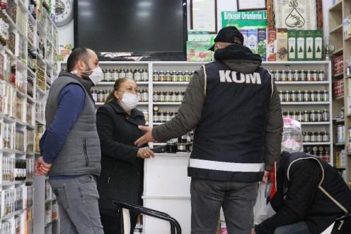 İzmirde Sahte İçki Denetimi