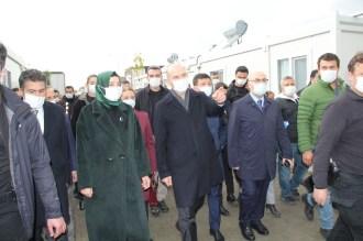 Süleyman Soylu, İzmirde Konteyner Kenti Ziyaret Etti