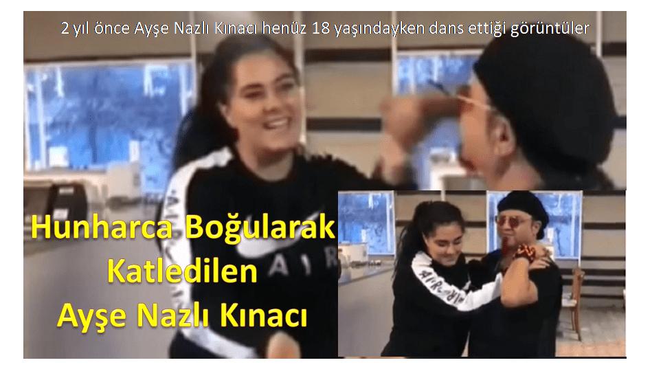 İzmir'in Menderes ilçesinde Hunharca Boğularak Katledilen Ayşe Nazlı Kınacı