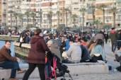 İzmirliler Kısıtlamasız Cumartesi Günü Kordona Akın Etti