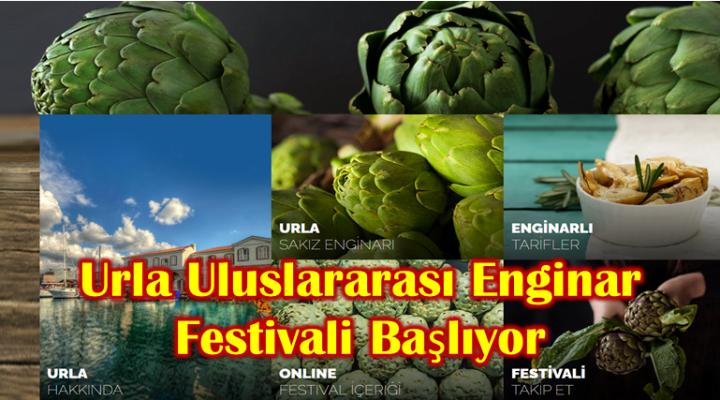 Urla Uluslararası Enginar Festivali Başlıyor
