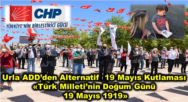 Urla ADD'den Alternatif 19 Mayıs Kutlaması; Türk Milleti'nin Doğum Günü 19 Mayıs 1919