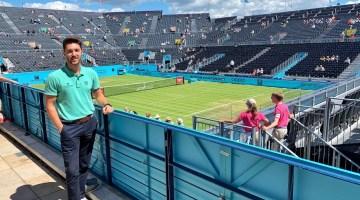 Wimbledon'da Türkiye'nin gururu oldu