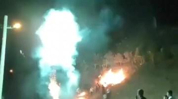 Patlatılan havai fişek yangın çıkarmıştı: Sorumsuzluğa ceza