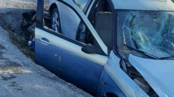 Urla'da yaralamalı trafik kazası